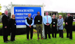 EPI faculty, admin, and prison officials outside MCI-Concord